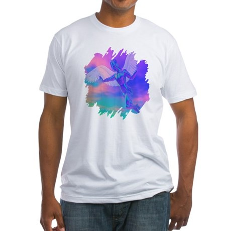 Angel of Light Fitted T-Shirt