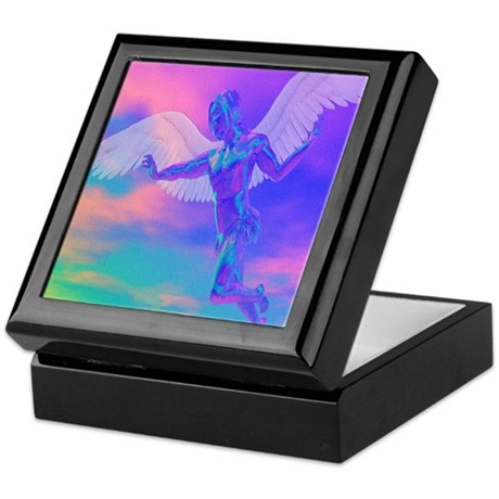 Angel of Light Keepsake Box