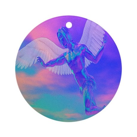 Angel of Light Ornament (Round)