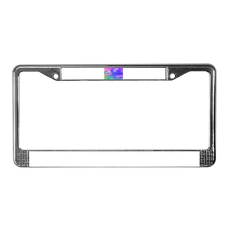 Angel of Light License Plate Frame