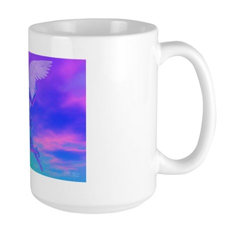 Angel of Light Large Mug