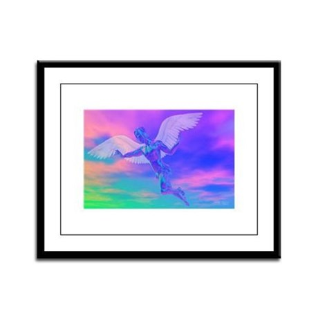 Angel of Light Framed Panel Print