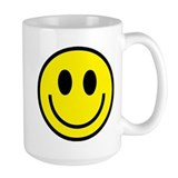 Classic Yellow Smiley Face Mug