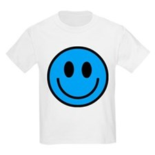 Classic Blue Smiley Face T-Shirt