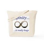 Infinity is Really Huge Tote Bag
