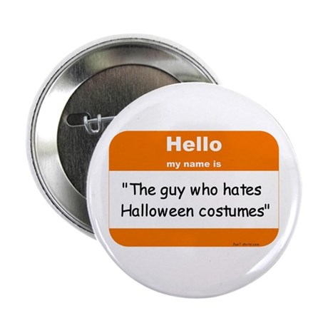 Anti-Halloween Button