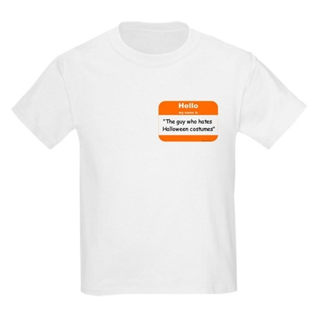 Anti-Halloween Kids Light T-Shirt