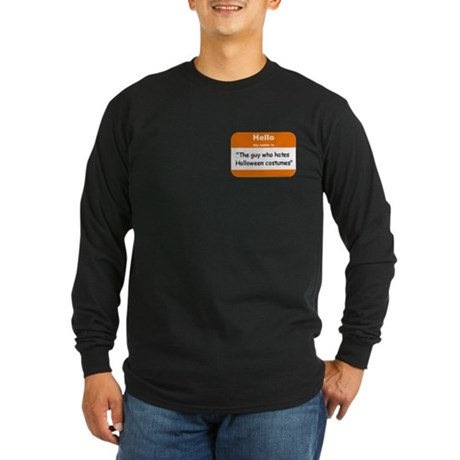 Anti-Halloween Long Sleeve Dark T-Shirt