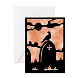 Funny Gravestone Greeting Card