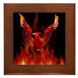 Phoenix Rising Framed Tile