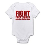 Fight Puppy Mills Onesie