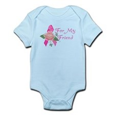 Breast Cancer Support Friend Infant Bodysuit