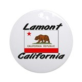 Lamont California Ornament (Round)