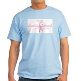 Cancer Free 5 years (martini)  T-Shirt