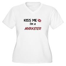 Kiss Me I'm a MARKETER T-Shirt