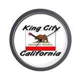 King City California Wall Clock