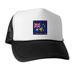 I Love Oz Trucker Hat