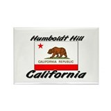 Humboldt Hill California Rectangle Magnet