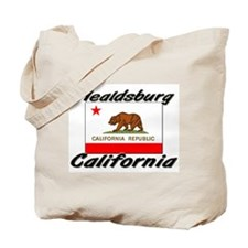 Healdsburg California Tote Bag