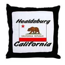 Healdsburg California Throw Pillow