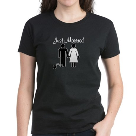 Just Married Women's Dark T-Shirt