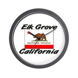 Elk Grove California Wall Clock