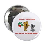 "Koala Bear Christmas 2.25"" Button (10 pack)"
