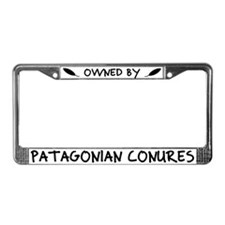 Owned by Patagonian Conures License Plate Frame