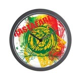 Rastafari Wall Clock