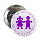 I love someone with Epilepsy Button