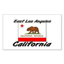 East Los Angeles California Rectangle Decal