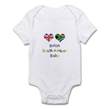 British South African Baby Infant Bodysuit