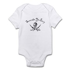 Surrender Yer Booty Infant Bodysuit