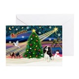 XmasMagic/Tri Cavalier Greeting Cards (Pk of 20)