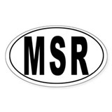 MONTSERRAT Oval Decal