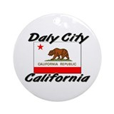 Daly City California Ornament (Round)