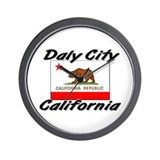Daly City California Wall Clock