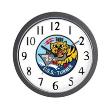 USS Turner (DDR 834) Wall Clock