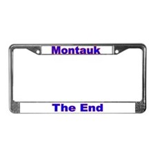 Montauk License Plate Frame