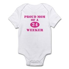 Proud Mom 24 Weeker Infant Bodysuit