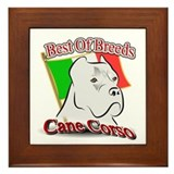 Cane Corso Best Framed Tile