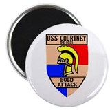 USS Courtney (DE 1021) Magnet