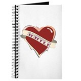 'Shipper tattoo heart journal