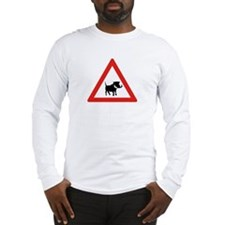 Beware of Warthogs, South Africa Long Sleeve T-Sh