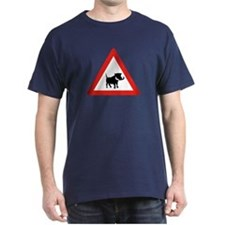 Beware of Warthogs, South Africa T-Shirt