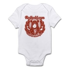 """angel/devil"" onesie"