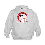 Let It Snowman Kids Hoodie