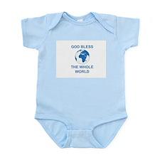Infant Creeper:  God Bless the Whole World