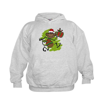 Santa Monkey Kids Hoodie