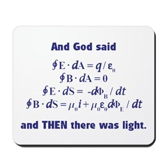 And God Said Mousepad